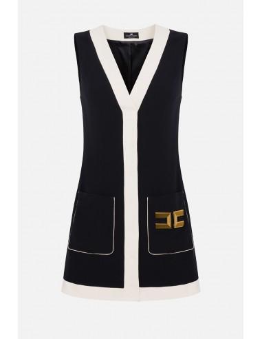 Elisabetta Franchi Short sleeveless dress - altamoda - AB20201E2
