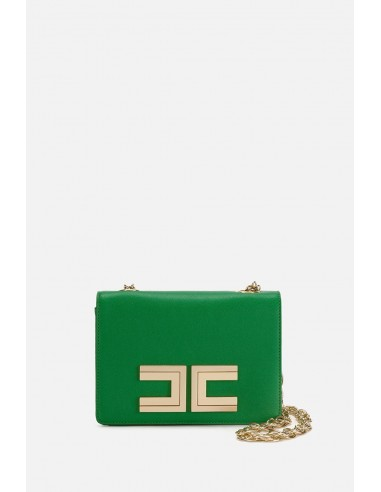Elisabetta Franchi shoulder bag with logo - altamoda.shop - BS12A01E2