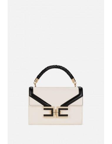 Bolso pequeño Elisabetta Franchi con asa trenzada - altamoda.shop - BS38A01E2
