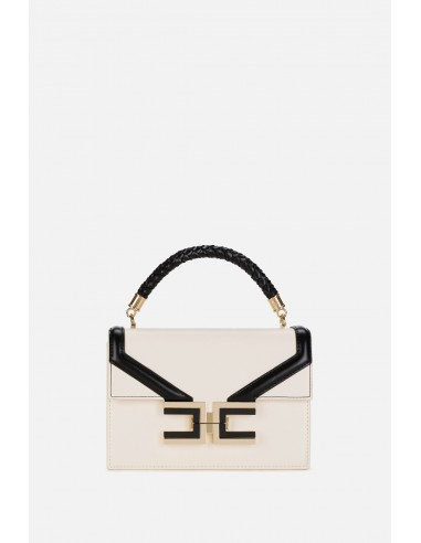 Elisabetta Franchi small handbag with braided handle - altamoda.shop - BS38A01E2