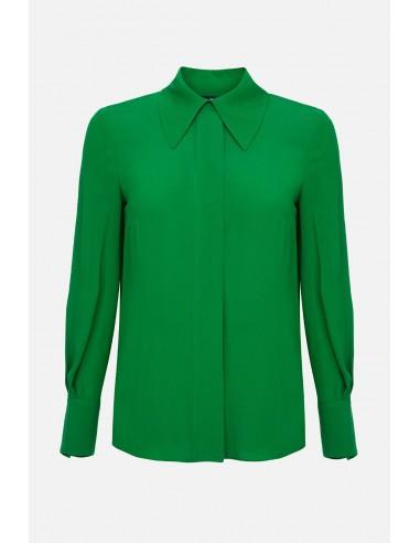 Elisabetta Franchi camisa blusa de Georgette - altamoda.shop - CA24501E2