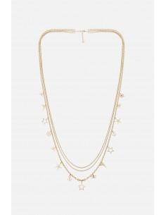 Elisabetta Franchi collier multiple avec pendentifs à breloques - altamoda.shop - CO03A01E2