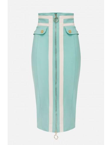 Elisabetta Franchi midi-skirt - altamoda.shop - GO34101E2
