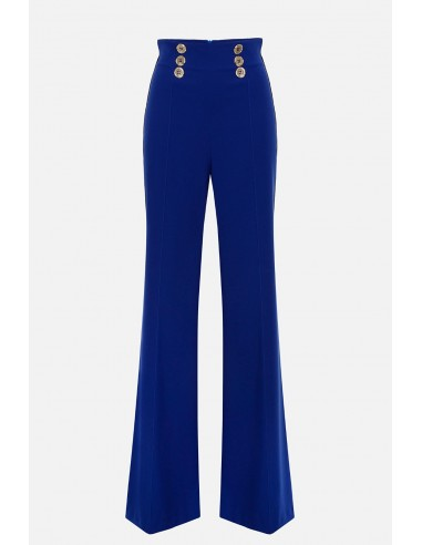 Elisabetta Franchi high-cut Palazzo pants - altamoda.shop - PA05201E2