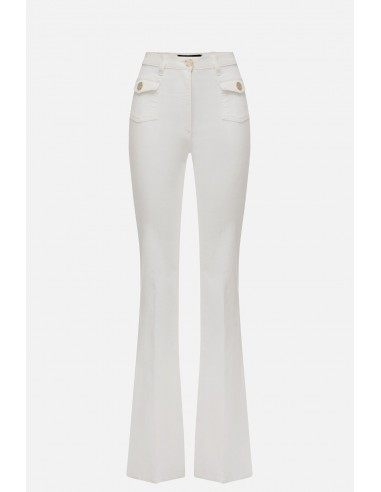 Elisabetta Franchi jeans with 4 pockets - altamoda.shop - PJ56D01E2