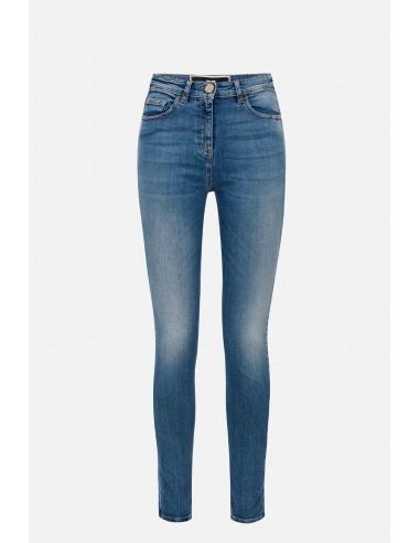 Elisabetta Franchi jeans with skinny cut - altamoda.shop - PJ60I01E2