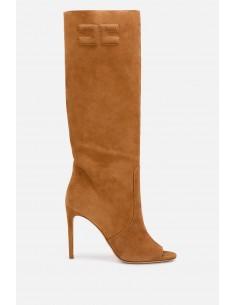 Elisabetta Franchi peep-toe boots - altamoda.shop - SA61B01E2