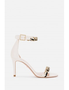 Elisabetta Franchi sandalen met kettingtoepassing - altamoda.shop - SA69F01E2