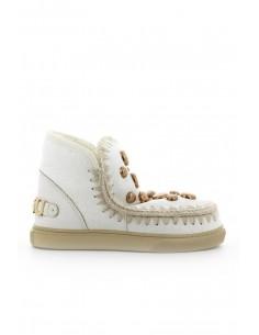 MOU Eskimo Sneaker Wax Weiß - altamoda.shop
