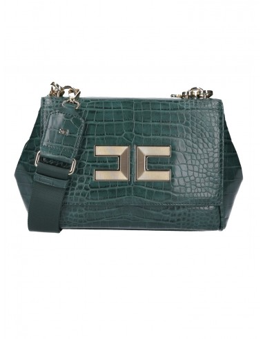 Small bag with crocodile effect