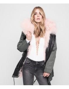 Nicole Benisti Parka with reversible fur lining - altamoda.shop