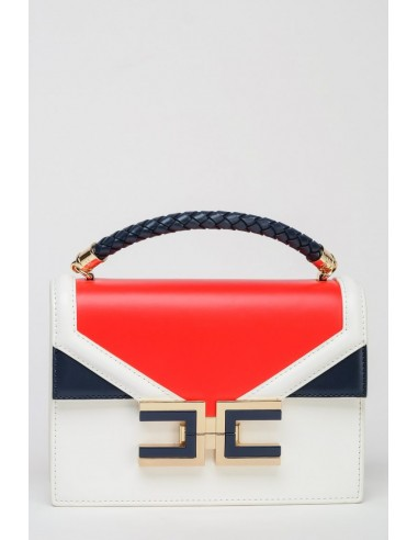 Small handbag with braided handle