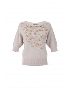 Elisabetta Franchi sweater with pearls - mk78t77e2_135