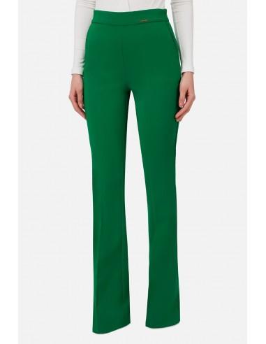 Pantalones ajustados de corte alto