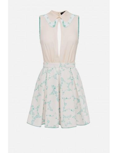 Elisabetta Franchi dress with star print motif - altamoda.shop - AB22501E2