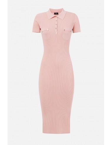 Elisabetta Franchi midi-knitted dress - altamoda.shop - AM12B01E2