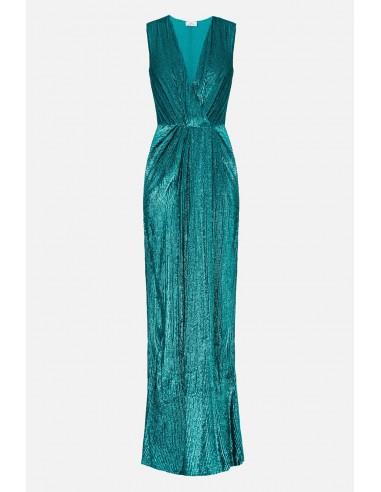 Elisabetta Franchi vestido largo sin mangas con bordados - altamoda.shop - AR61A01E2