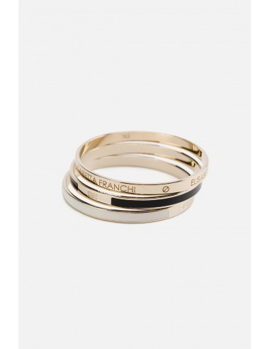 Elisabetta Franchi set of 3 bracelets - altamoda.shop - BC1MC01E2