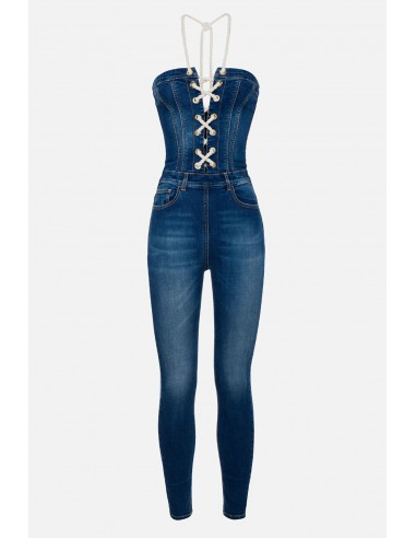 Combinaison Elisabetta Franchi avec 5 poches - altamoda.shop - TJ12S01E2