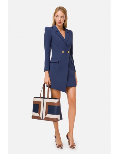 Elisabetta Franchi Coat dress with buttons - altamoda.shop - AB02206E2