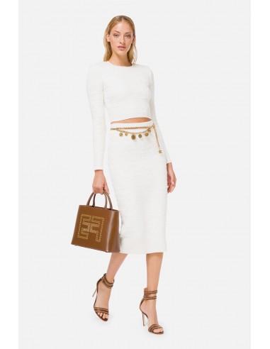 Elisabetta Franchi Top and skirt - altamoda.shop