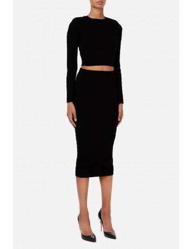 Top and skirt