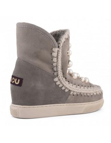 MOU Eskimo Inner Wedge Sneaker Grey