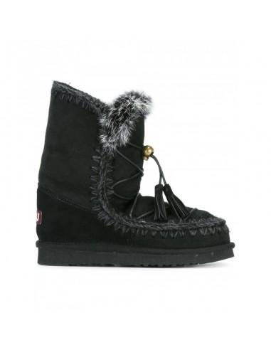 Eskimo Dream Botas de encaje en negro - Mou