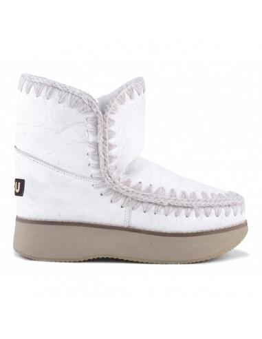MOU Eskimo Running Boots 18 in waxi white - altamoda.shop