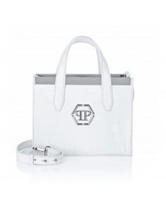 Top Handtas in het wit van Philipp Plein bij altamoda.shop