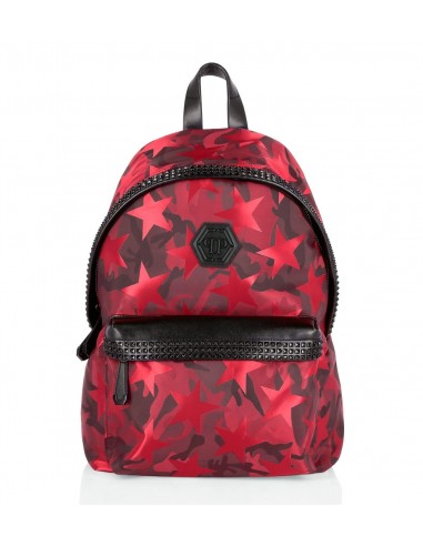 Backpack in Nylon and Syntetic Leather Philipp Plein - altamoda.shop - F18A MBA0461 PXV002N