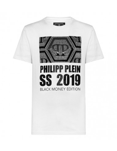 T-shirt Philipp Plein T Shirt Black Money Edition - altamoda.shop - P19C MTK3338 PJY002N