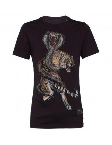 Koszulka z wężem i tygrysem