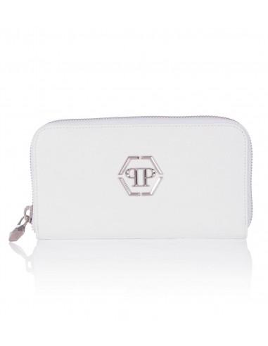 Brieftasche Größe L mit Reißverschluss Philipp Plein bei altamoda.shop - S18A WVG0046 PLE004N