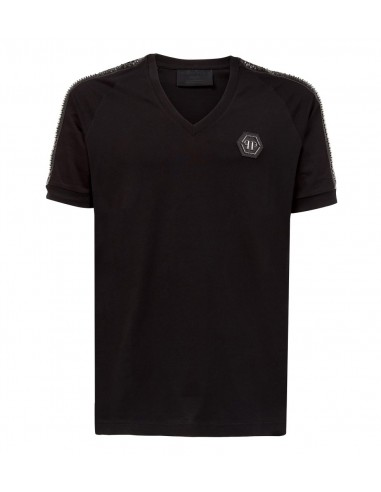 T-shirt Black Pill de Philipp Plein em altamoda.shop - P18C MTK1958 PYX002N