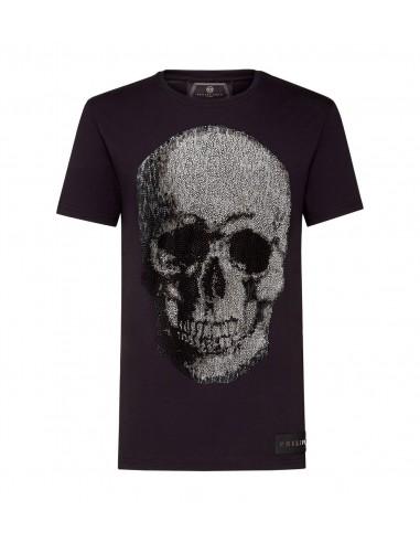 T-Shirt Glory by Philipp Plein at altamoda.shop - F18C MTK2497 PJY002N