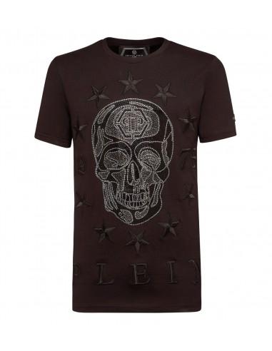 Totenkopf und Sterne T-Shirt