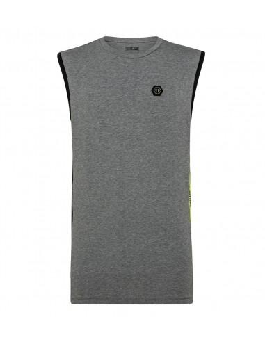 Tank Top Shirt by Philipp Plein at altamoda.shop - P19C MTK3268 PJY002N