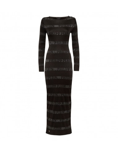 "Philipp Plein Knit Day Dress ""Change"" bij altamoda.shop - F18C WKG0177 PKN002N"