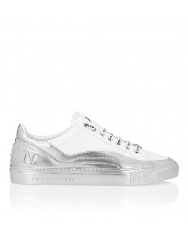 Baskets basses Philipp Plein Low top argent chez altamoda.shop - P19S MSC2198 PLE075N