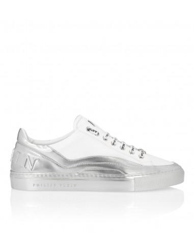 Philipp Plein Low top sneakers silver at altamoda.shop - P19S MSC2198 PLE075N