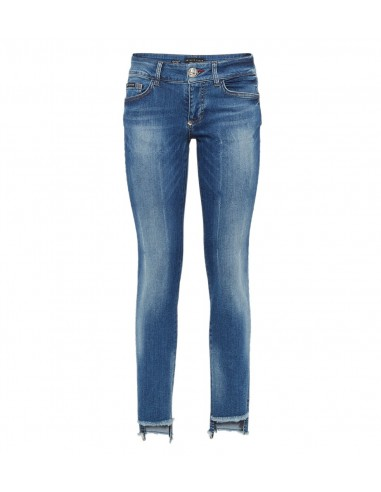 Philipp Plein Jeggings Jeans with fine Crystals at altamoda.shop - P18C WDT0655 PDE001N