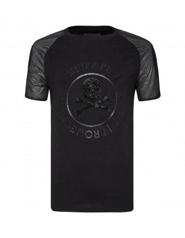 "Philipp Plein T-Shirt ""Projecto XYZ Activo"" em altamoda.shop - A18C MTK2650 PJY002N"