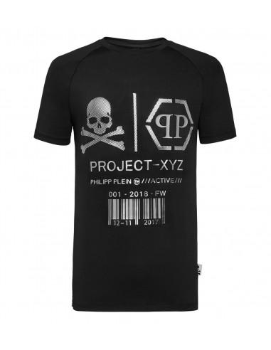 "Philipp Plein T-Shirt ""Projecto XYZ Activo"" em altamoda.shop - A18C MTK2625 PJY002N"