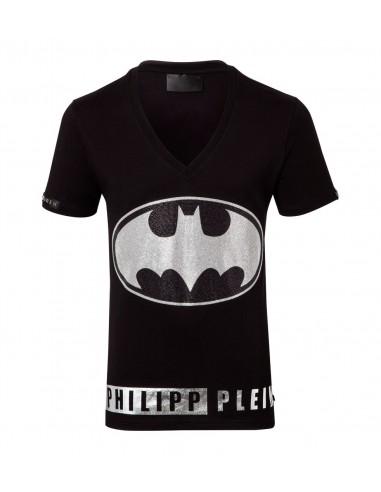 Camiseta de Philipp Plein El salvaje Batman en altamoda.shop - FW16 HM342728-1