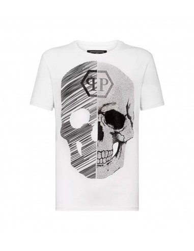 T-Shirt Schedel 50% Abstract