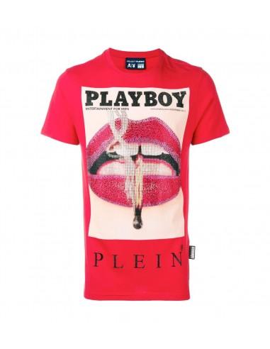 Lábios de T-Shirt Playboy