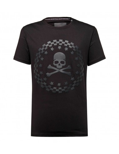 T-shirt Philipp Plein The Sky chez altamoda.shop - P18C MTK2116 PJY002N