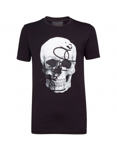 Philipp Plein T-Shirt Signed Skull at altamoda.shop - F18C MTK2480 PJY002N