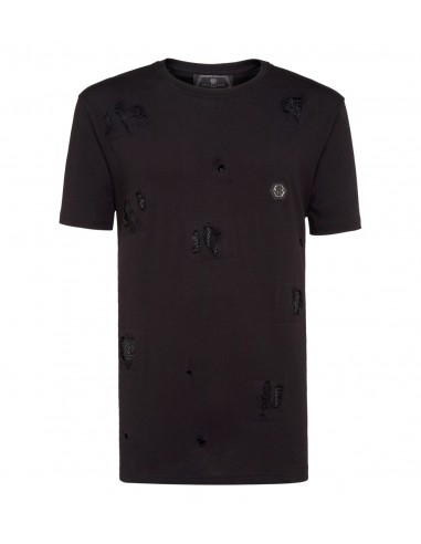 Philipp Plein T-Shirt Crystal Spots at altamoda.shop - A18C MTK2802 PJY002N